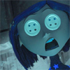Coraline- Buttons for Eyes