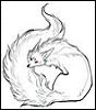 white spirit fox