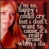 Jessica: crying blood is gross