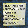 nuts, tightness, bollocks, check