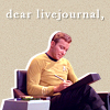 LJ: kirk captain's log
