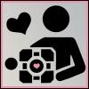 a modern girl: Companion Cube