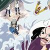 moku moku no mi, White Out, capturing pirates