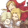 I picked up a cat.: FMA→ Three-Elric pile up?
