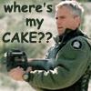 where's my cake?