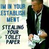 charlie: PB - Linc Toilet Paper