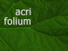 acrifolium userpic