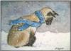 Мусик на снегу