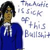 Unhappy autie