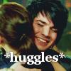 Nicole: Adam huggles!