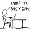 xkcd: barely 3am