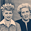 lucy and ethel are wary of your shit