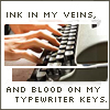 [writing] ink in my veins