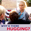 Why The Hugging?