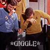 Bones/Kirk φ Giggle!