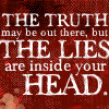lies inside your head