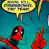 MARVEL [violence. yay team]