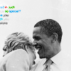 nearer than the moon am i to you: barack/hillary; laughing
