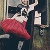 crazy, skirt, dress