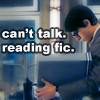 SR; Clark; Can't Talk- Reading fic