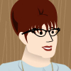 Rachel: cartoon me