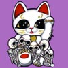 Lucky Cat Skellies
