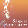 Sailor Lum: snape is rotflmao by swanboat_icons