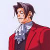 Miles Edgeworth: was not expecting that