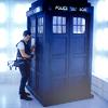 [tardis] next to, TARDIS