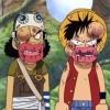 riphacchi: Luffy & Ussop Bruise