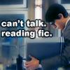 Me: SR - Can't talk Reading Fic