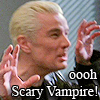 Blondebitz: Spike *ooooh Scary Vampire!*