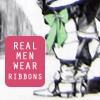 Scribbles and bits...: 3M - real men/ribbons