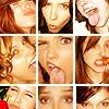 Caitlin: sophia > funny faces (tic tac toe box)