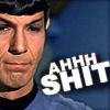 Larissa: StarTrek_Spock Ahh Sh*t