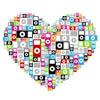 ipod, heart