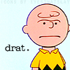 Drat Charlie Brown