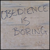 obedience is boring