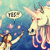Go straight to hell boys: Molly-> SAY YES TO UNICORNS
