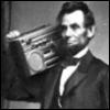 Abe likes to jam