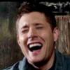 Dean laughing