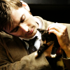 {doctor who} ten and kitteh
