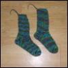 fiber: McLellan socks