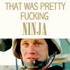 Laura: [GK] Pretty Fucking Ninja
