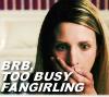 fangirling