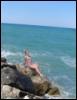 море, Римини, Италия