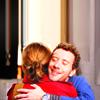 Bones - Harbingers - Brennan/Hodgins hug