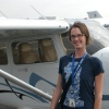 airplane outside