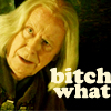 Merlin - Gaius: BITCH WHAT