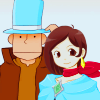 Trucy: Layton as Mr Hat